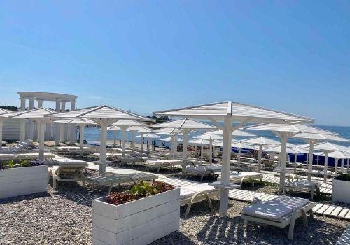 Отель Крыма с собственным пляжем