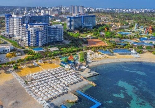 Отель в Крыму со своим пляжем