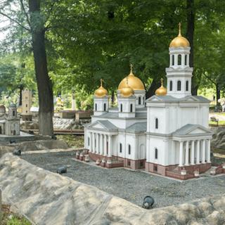 Посетите парк миниатюр в Бахчисарае в Крыму