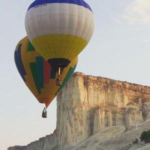 Фото полета на воздушном шаре в Крыму