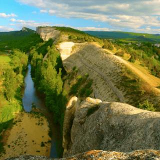 Гора Крокодил в Бахчисарае