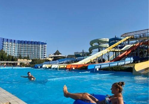 Отдых в Крыму с детьми с аквапарком