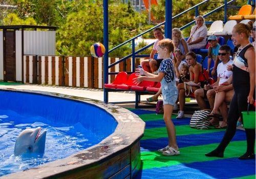 Отдых в Крыму с детьми с дельфинарием