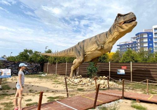 Отдых в Крыму с детьми с парком динозавров