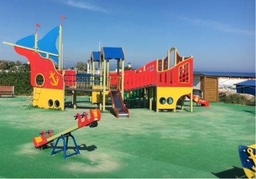 Отдых в Крыму с детьми с игровыми площадками