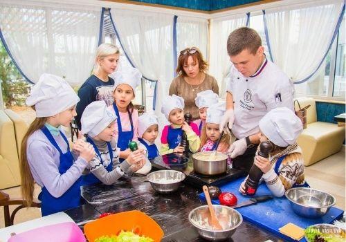 Отдых в Крыму с детьми со школой поваренка