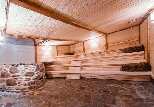 СПА-отель с альпийской сауной