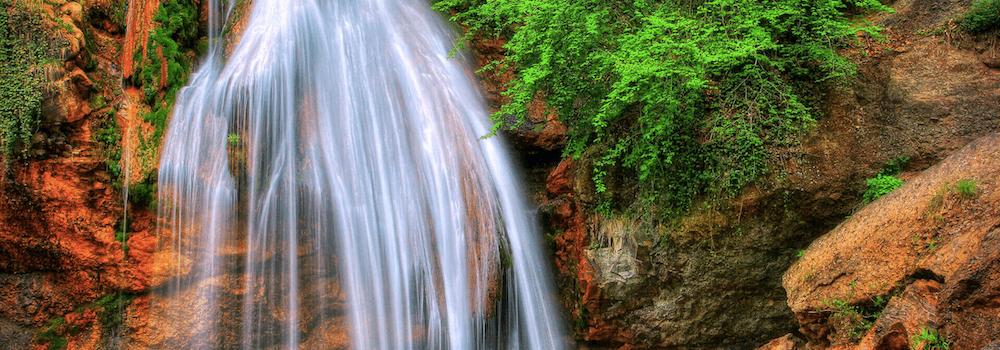 Прогулка к водопаду Джур-Джур в Крыму