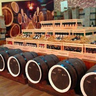 Завод вин в Инкермане в Крыму